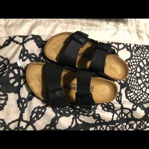 Birkenstock sandlas